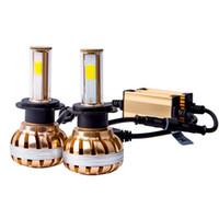Wholesale Led Front Headlights - Car Led HeadLight H4 H7 H8 H9 H1 H11 H27 880 881 9005 9006 Automobiles Bulb Headlamp 6500K Lights Lighting Front Light Car
