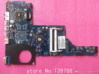 Wholesale hp pavilion laptop motherboard cpu resale online - 657146 board for HP pavilion G6 G6 C G6 D series laptop motherboard with AMD DDR3 cpu E450
