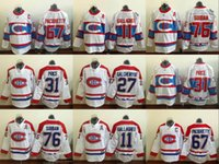 ce81dd15c 2017 Hockey Montreal Canadiens Winter Classic Jerseys 31 Carey Price  76 PK  Subban  11 Brendan Gallagher Jersey ...