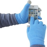 Wholesale Resistive Screen - 2016 Winter touch screen gloves iglove capacitive screen conductive i gloves for Samsung Galxary iphone 6 7 plus S6 edge note 5 ipad tablets