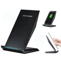 Wholesale Wholesale Car Batteries Direct - M220 Stannd Wireless Charger Phone Stent Mini Fast Charging Battery Charger for iPhone 8 X Samsung Galaxy S7 Edge S8 S8 Plus