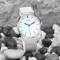 Wholesale Oval Watches For Women - Durable 2016 New Fashion Stainless Steel Band Quartz Watch Women Bayan Kol Saati For Horloges Vrouwen relojes mujer
