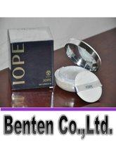 Wholesale Skin Whitening Cream Korea - 2016 Hot South Korea Iope air cushion BB cream Concealer air cushion foundation liquid pressed powder+Refill free shipping VOLY01