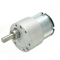 Wholesale 24v Geared Motor - DC 24V 330rpm Gear Reducer Motor High Torque Gear Box Motor