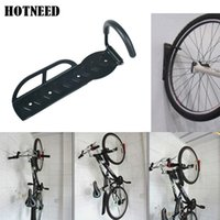 Wholesale Roof Mount Racks - Wholesale-High Quality Strong Steel Cycling Bicycle Storage Rack-Wall Mounted Bike Hanger Hook Rack Holder with Screws 30kg Free Shipping