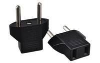 adaptadores de tomada venda por atacado-Universal Europeu DA UE para EUA EUA EUA Plug Conversor Tomada Adaptador Adaptador de Tomada de Tomada de Parede Tomada Elétrica