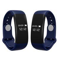 affichage de bracelet bluetooth achat en gros de-H30 bracelet smart podomètre bracelet OLED écran étapes tracker Bluetooth 4.0 écran tactile pour lenovo huawei samsung iphone