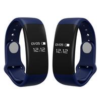 pantalla de pulsera bluetooth al por mayor-H30 smart podómetro pulsera Pulsera OLED pantalla pasos rastreador Bluetooth 4.0 Pantalla táctil para lenovo huawei samsung iphone