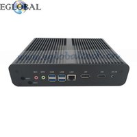 6ème Génération gros-eGlobal Mini Pc Cpu Core i7 6500U 6600U Intel Nuc Fanless Mini PC sous Windows 10 Desktop Computer Barebone TV Box DP