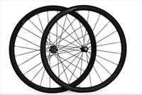 hubs rway powerway al por mayor-Envío gratis ruedas de carbono carretera 38mm ruedas clincher 700C ancho 23 mm carbono powerway R13 bujes bicicleta carretera bicicleta wheelste