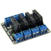 Wholesale ssr module resale online - 5V Channel SSR High Level Solid State Relay Module For V2A