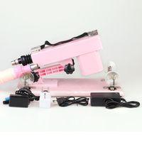 Wholesale Sex Machine Cannon - Sex Toy Golden Gun Cannon Machine Gun Masturbation Machine For Female Machine Gun Sweetheart Sex Toy 2 Colors Assorted