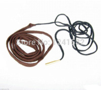 Wholesale Bore Snake 177 - Free shipping New Rifle Pistol Bore Snake Gun Cleaning .17CAL 17HMR .177 Brass Weighted brass filigree