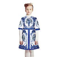 Wholesale Casual Kids Princess Clothes - Kidsalon Vestidos Princess Dress Robe Fille Moana Girl Party Dress 2017 Girls Christma Dresses for Girls Clothing Kids Clothes