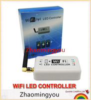 Wholesale Control Dimmer Android - DC12v 24v Wifi Led Dimmer Controller 12A 2.4Ghz RGB  Color Temperature  Dimmable Mini Smart Home Control by Android IOS