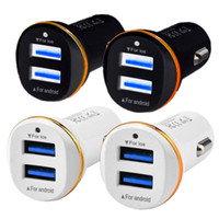 Wholesale gps 6.5 for sale - Group buy Quick Car charger Double Dual usb ports A Car charger Adapter Chargers for iphone Samsung s7 s8 android phone gps mp3