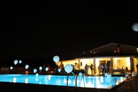Wholesale Hanging Led Pool Light - 3pcs AG13 Battery Operated Colorful Waterproof Hanging LED Mini Party Night Balloon Light for Swimming Pool Decor 10pcs  lot