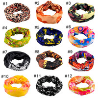 headband head headband achat en gros de-Equitation Bicyclette Moto Foulard Variété Turbante Nouveauté Bandanas Magic Headband Headband Multi Head Scarf Scarf 2503067