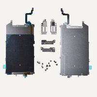"""Wholesale Screw Shield - OEM LCD Metal Back plate Shield Home Mid Flex Ribbon Cable for iPhone 6 PLUS 5.5"""" + Screws"""