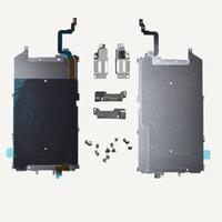 iphone home flex band großhandel-OEM LCD Metallrückwand Schild Home Mid Flex Flachbandkabel für iPhone 6 PLUS 5.5