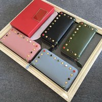 Wholesale Star Crocodile Purse - Free shipping2016 luxury brand cow leather crocodile long wallet top quality original box coin purse fashion classic zipper pocket card slot