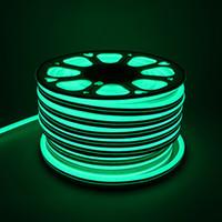 neon disco zeichen großhandel-Mini Safe 12V LED Neon Flex Lichter 5 cm 2 Zoll Schneideeinheit LED Leuchtreklamen für Nachtclub Bar Disco Weihnachtsfeier