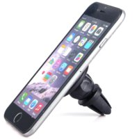 360 degrés Fente clip Bracket Holder Sticky Phone Car Air Vent Mount Magnetic Stand pour iPhone 6S plus Samsung S6 Sony GPS Tablet