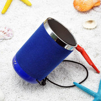 Wholesale Usb Sound Card Price - Cylinder Small Speakers with Bluetooth Speakerphone Stereo FM Radio TF Aux MP3 WSA-8617 Bluetooth Speaker Price Good