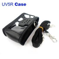 Wholesale Tyt Radio Case - Handheld Radio Case for BAOFENG UV-5RA + UV-5RB UV-5RC UV-5RD UV-5RE TYT TH-F8 Boristone 7RL UV5R Portable Protection Holster