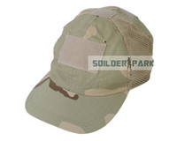 Wholesale Airsoft Adjustable - Outdoor Baseball Cap with Tape Attachment Base Desert Camo Adjustable Sun Hat Mesh Leisure Tactical Airsoft Cap Free Shipping order<$18no tr