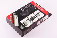 Wholesale Camera For Lenovo - 3 in 1 Mobile Phone Clip Lens fish eye wide angle macro camera lens for iphone 6s plus 5s 5 xiaomi huawei lenovo