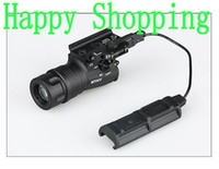 Wholesale led tactical flashlight pressure switch - Tactical Flashlight M720V Led Light Quick Detachable Mount With Pressure Switch Black Sand