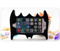 Wholesale Batman Iphone 5c Case - New Black Batman Mask Soft Silicone Phone Back Cover Phone Case For Iphone 4 4S 5 5C 5S 6 6S 6Plus 6S Plus