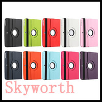 Wholesale Genuine Galaxy Tab Case - 360 Rotating leather Case for Samsung Galaxy Tab 3 8.4 T310 10.1 Note Pro Tab 4 S Sleep Wake UP