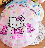 Wholesale Dhl Shampoo - DHL FreeShip,50Pcs Waterproof Cute Shampoo Shower Bathing Cap Hat bonnet de douche gorro For Hair Bathing Childrencasquette bain