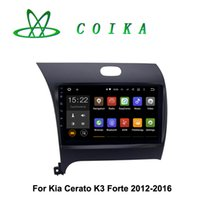 Wholesale Dvd Car For Kia Forte - 9 Quad Core Android 5.1 Radio Receiver CAR DVD For Kia Forte K3 Cerato 2012 2013 2014 2015 2016 WIFI 3G BT Phonebook RDS GPS Navi Touch