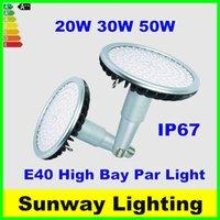 Wholesale Umbrellas Shop - Super Bright E27 E39 E40 LED Bulbs 20W 30W 50W LED Par Light Long Neck Warehouse shop supermarket High Bay lighting lamps ac85-265v
