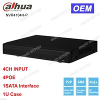 Dahua OEM NVR4104H-P 4CH canale Smart Mini 1U 4 POE Network Video Recorder NVR