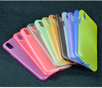 Factory Cheap Price Ultra Slim PP Soft Cell Phone Case iPhone 8 Cases Multi Color Back Cover para iphone 8 Shell de capa protetora
