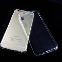 """Wholesale Iphone Case Sillicon - 1000PCS iPhone 7 Plus Transparent TPU Cases Gel Crystal Soft Sillicon Case Slim High flexibility Back Cover for 5.5"""" iPhone 6 iPhone 6S Plus"""
