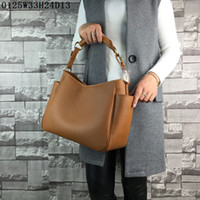 Wholesale Zipper Side Bag - Latest women leather totes Lichee grain Medium casual bags humany sides pockets designment Urban casual women fashion bags near cost price