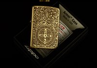 Wholesale Bibles High Quality - Luxury high quality man wind kerosene lighter The bible version 5 surface engraving Constantine lighter