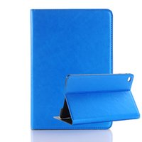 Wholesale Ipad Mini Horse Leather - Crazy Horse Grain Case PU Leather Flip Stand Cover Card Slots For iPad Mini 4 Air 2 Pro 9.7 12.9 OPPBAG