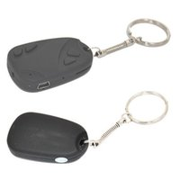 5pcs / lot Mini Filmadoras espião chaves do carro Car Keychain Spy Camera HD vídeo câmera escondida Video Recorder Camcorder para o cartão SD TF