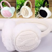 Wholesale-2016 neue Frauen-Mädchen-Winter-warme Kint Earmuffs Earwarmers Ear Muffs Earlap Warmer Stirnband