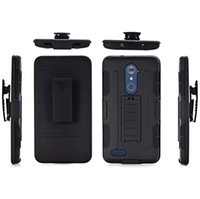 Wholesale Future Skin - Hybrid Future Armor Clip Belt Hard Soft Silicone gel Case Cover For ZTE Zmax Pro Z981 Iphone X 3 in 1 Shockproof Stand Holster Skin Cover