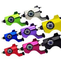 kalıcı makine kiti toptan satış-Toptan Sıcak Rotary Dövme Makinesi Siyah Klip Kordon Dövme Kaynağı Ücretsiz Nakliye Için kalıcı makyaj seti