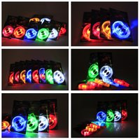 100pcs (50 coppie) Moda impermeabile luminoso ha condotto i merletti Light Up Sneaker casual Calzature merletti Night Party incandescente scarpa libero per DHL