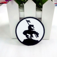 iron patches horse achat en gros de-END OF THE TRAIL fer-sur brodé PATCH HORSE SYMBOL