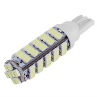 Wholesale 68 led - Super Bright 360LM 6.8W T10 68LED 1206 68 SMD LED Car 68smd 3020 W5W 194 927 168 W5W Side Wedge Lamp Marker Bulb License plate lights DC12V